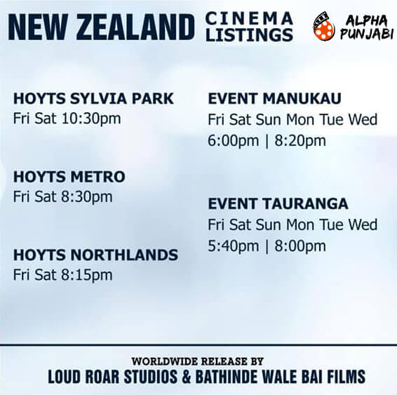 New Zealand Cinema Listings,